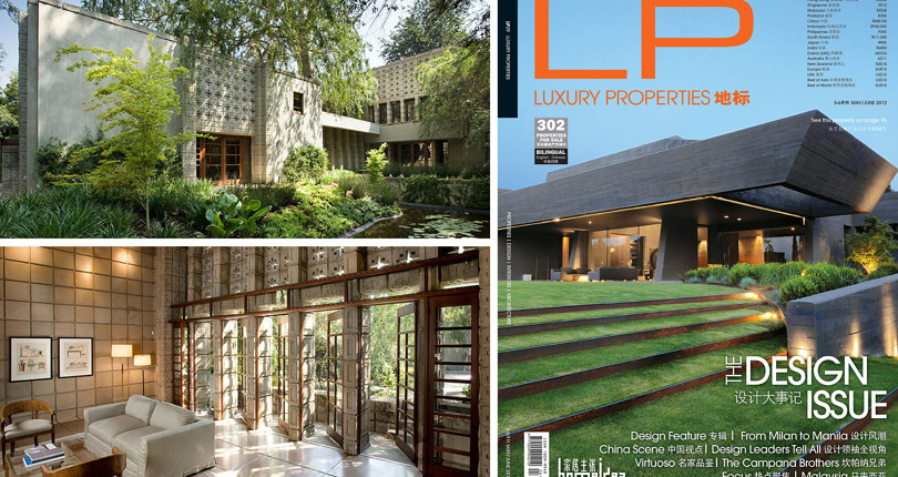 China: Luxury Properties – Frank Lloyd Wright's Millard House
