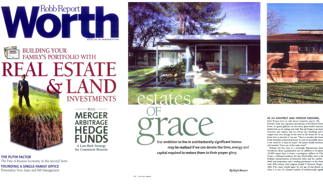 Robb Report Worth: Estates of Grace