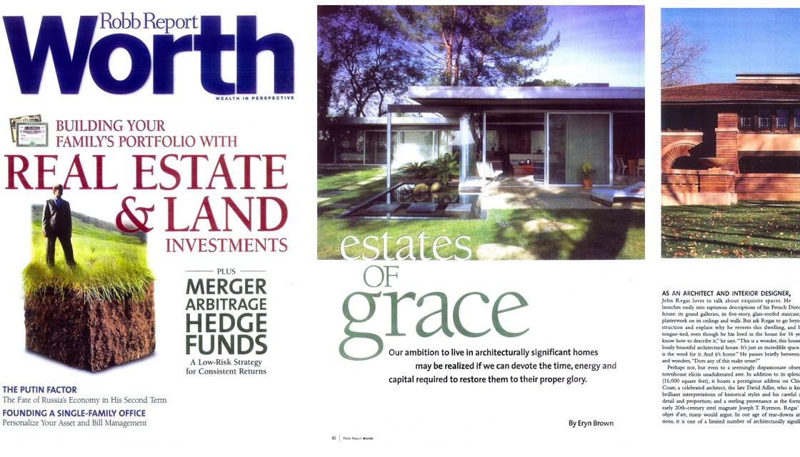 Robb Report Worth: Estates of Grace
