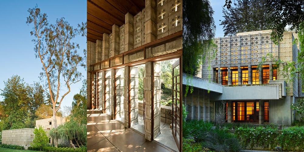"""Frank Lloyd Wright's Millard House """"La Miniatura"""""""