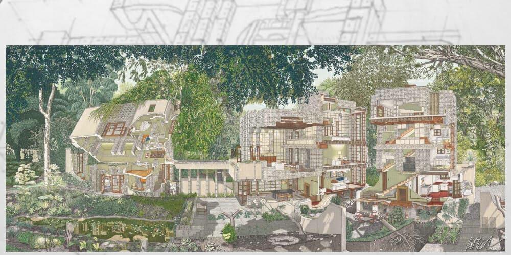 New Artistic Interpretation of the Millard House