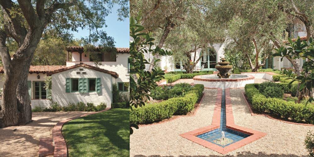 Classic California Courtyard Hacienda