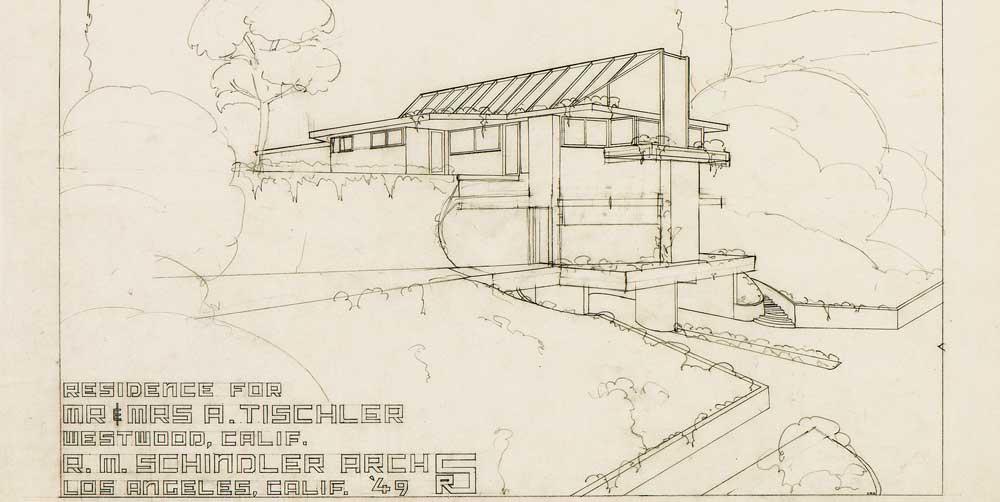 Schindler's Translucent Tischler House