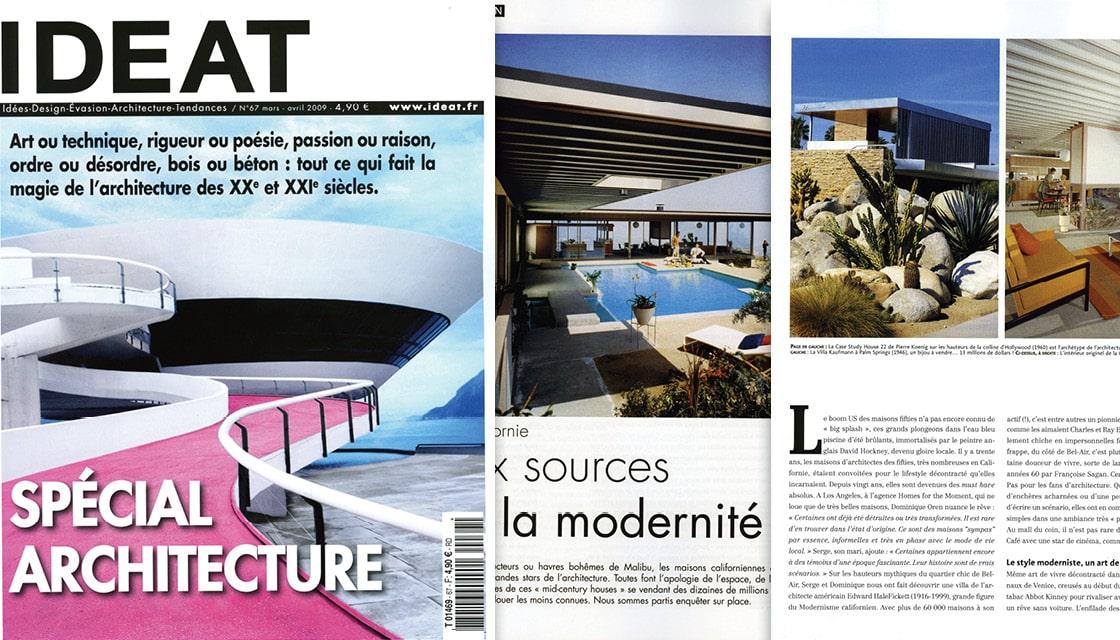 Kaufmann Desert House, Ideat Magazine