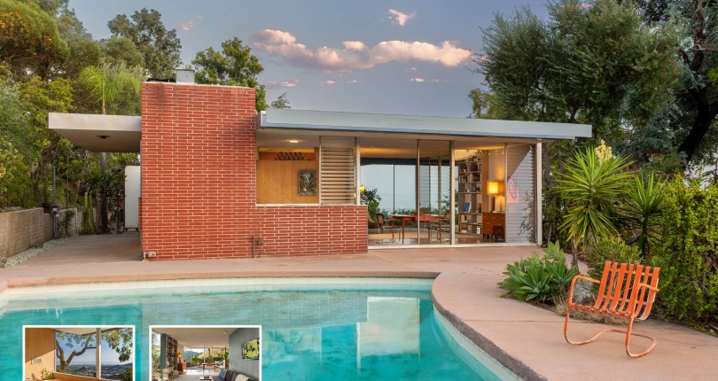 Richard Neutra for sale: The Sale Residence in Brentwood Available For the First-Time