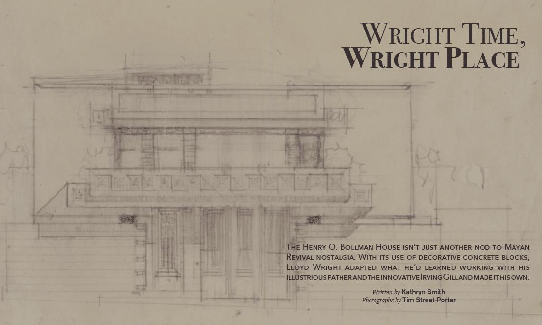 Lloyd Wright, Architect